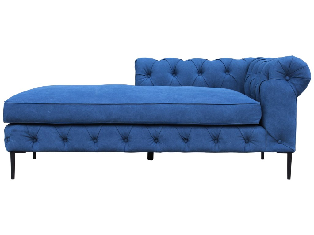 Moe's Home Collection CanalTufted Chaise Lounger