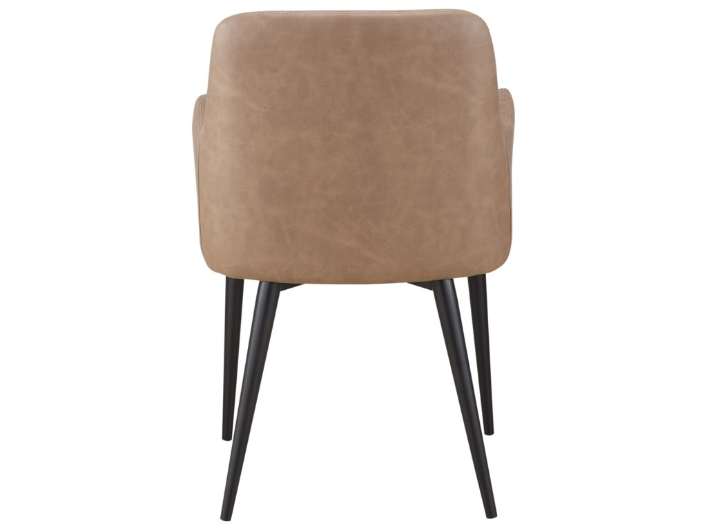 Moe's Home Collection CantataQuilted Faux Leather Dining Chair