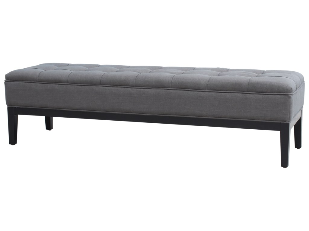 Moe's Home Collection CapelloTufted Upholstered Bench