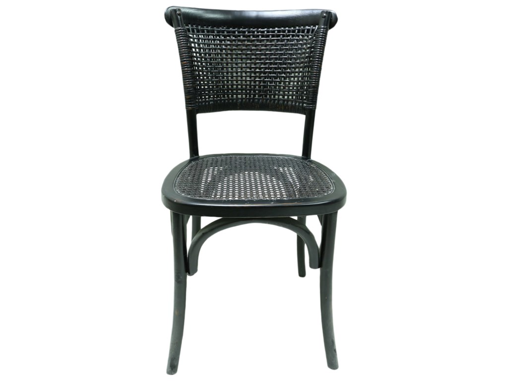 Moe's Home Collection ChurchillDining Chair with Rattan Seat