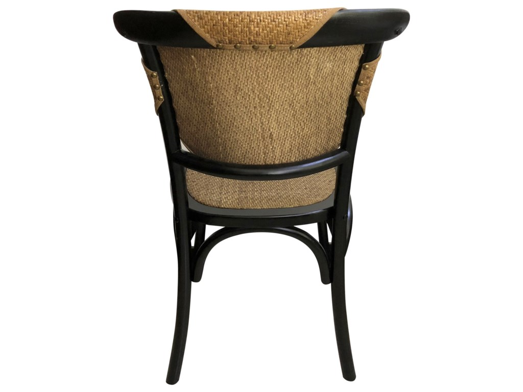 Moe's Home Collection ColmarRattan Dining Side Chair