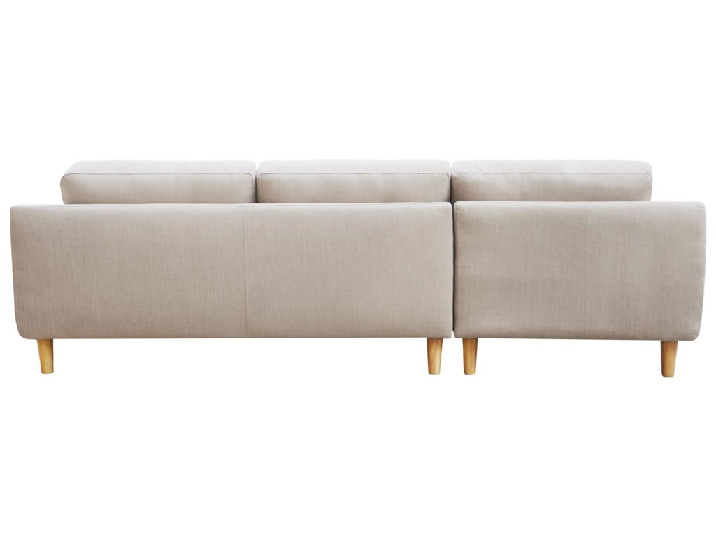 Moe's Home Collection CoreySectional Sofa with Left Chaise