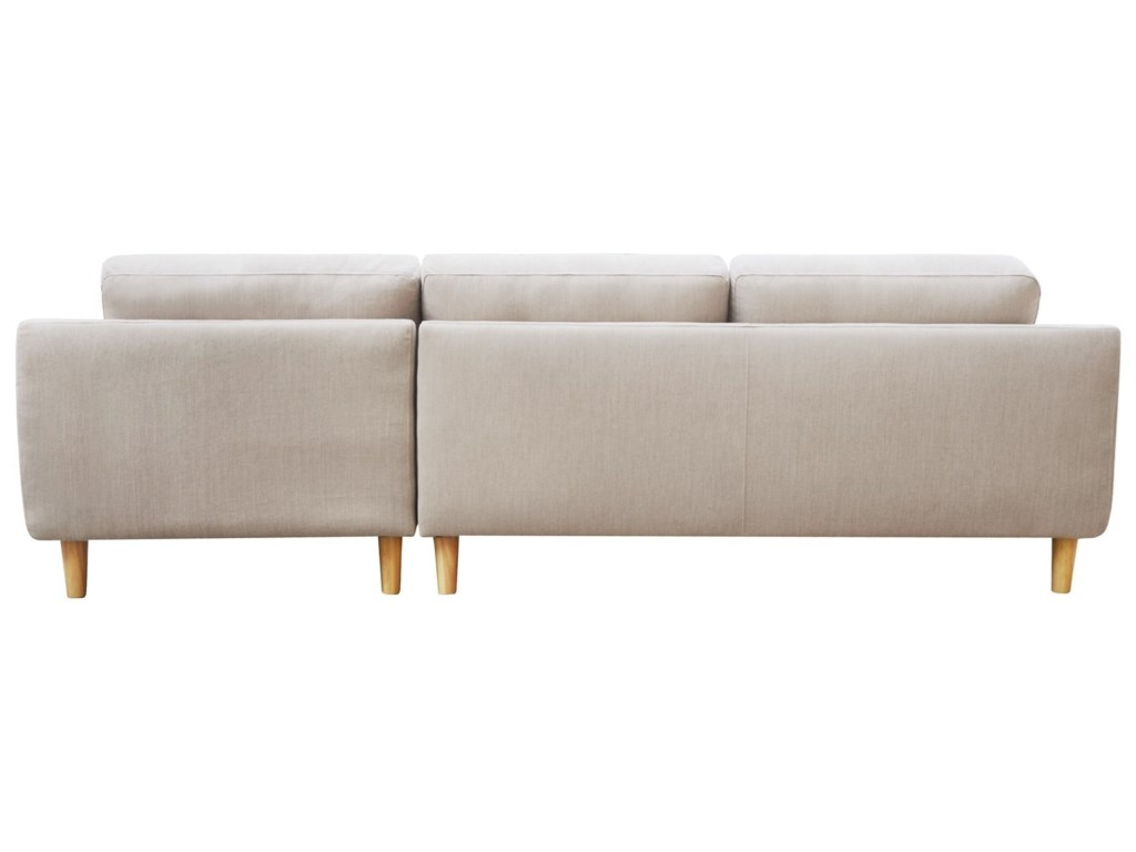 Moe's Home Collection CoreySectional Sofa with Right Chaise