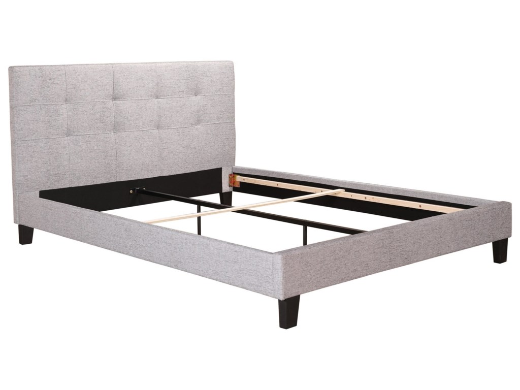 Moe's Home Collection ElizaKing Low Profile Bed