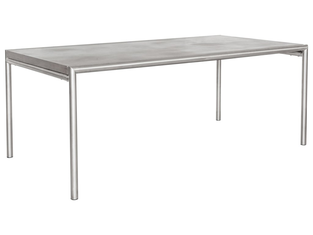 Moe's Home Collection InoxOutdoor Dining Table