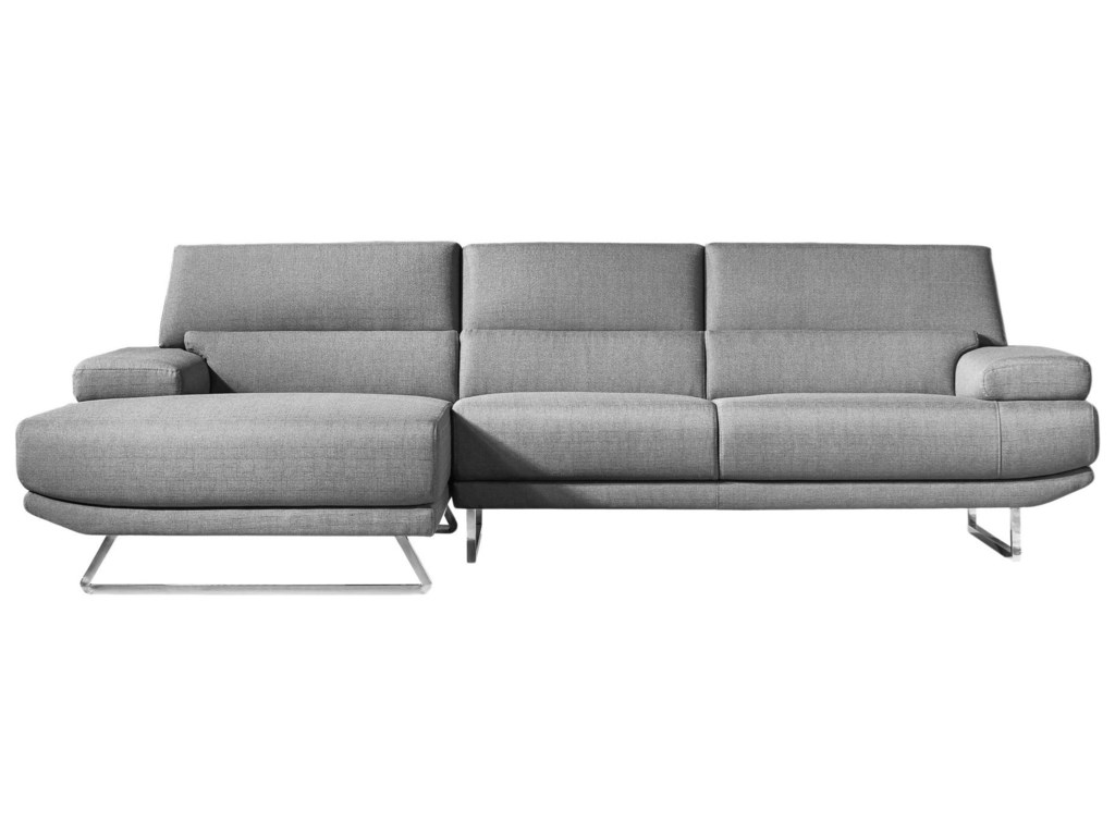 Moe\'s Home Collection Jenn Contemporary Sectional Sofa with ...