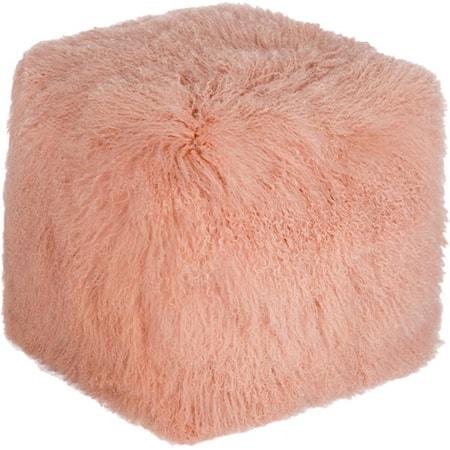 Fur Pouf Pink