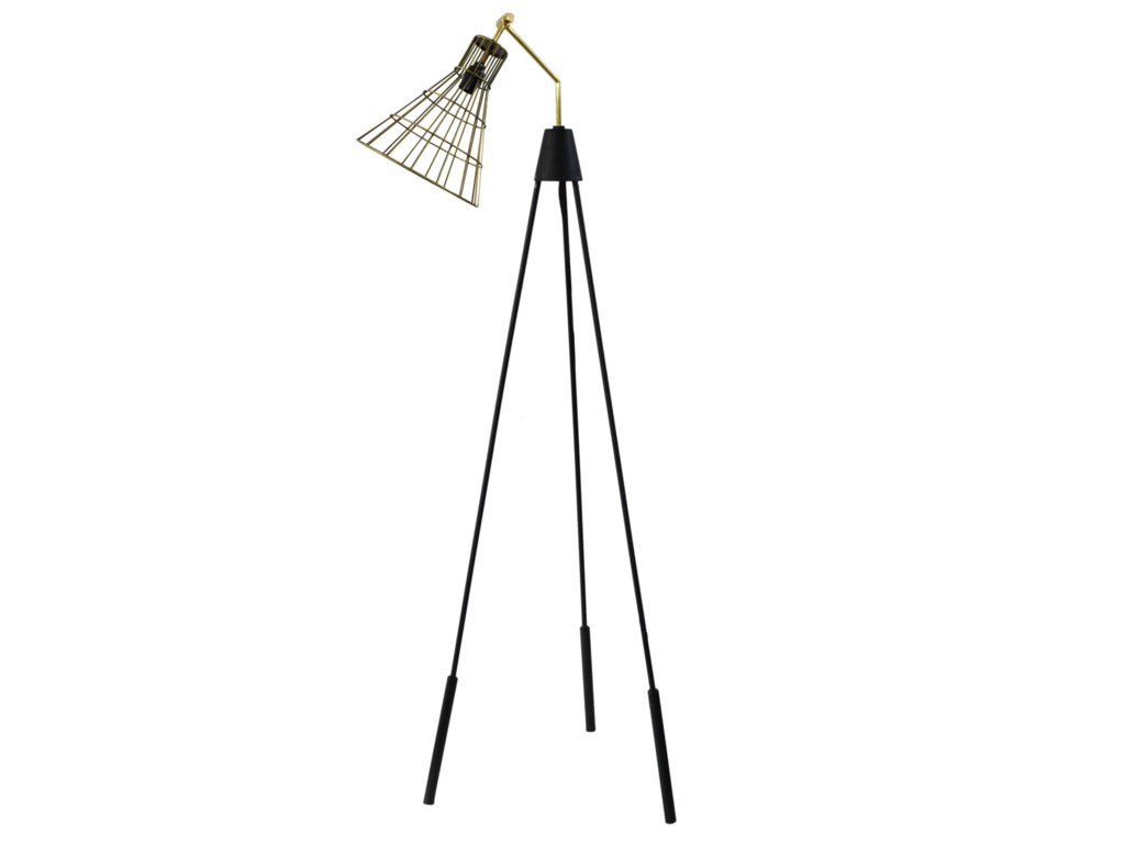 Moe's Home Collection LightingAntonello Floor Lamp - Gold