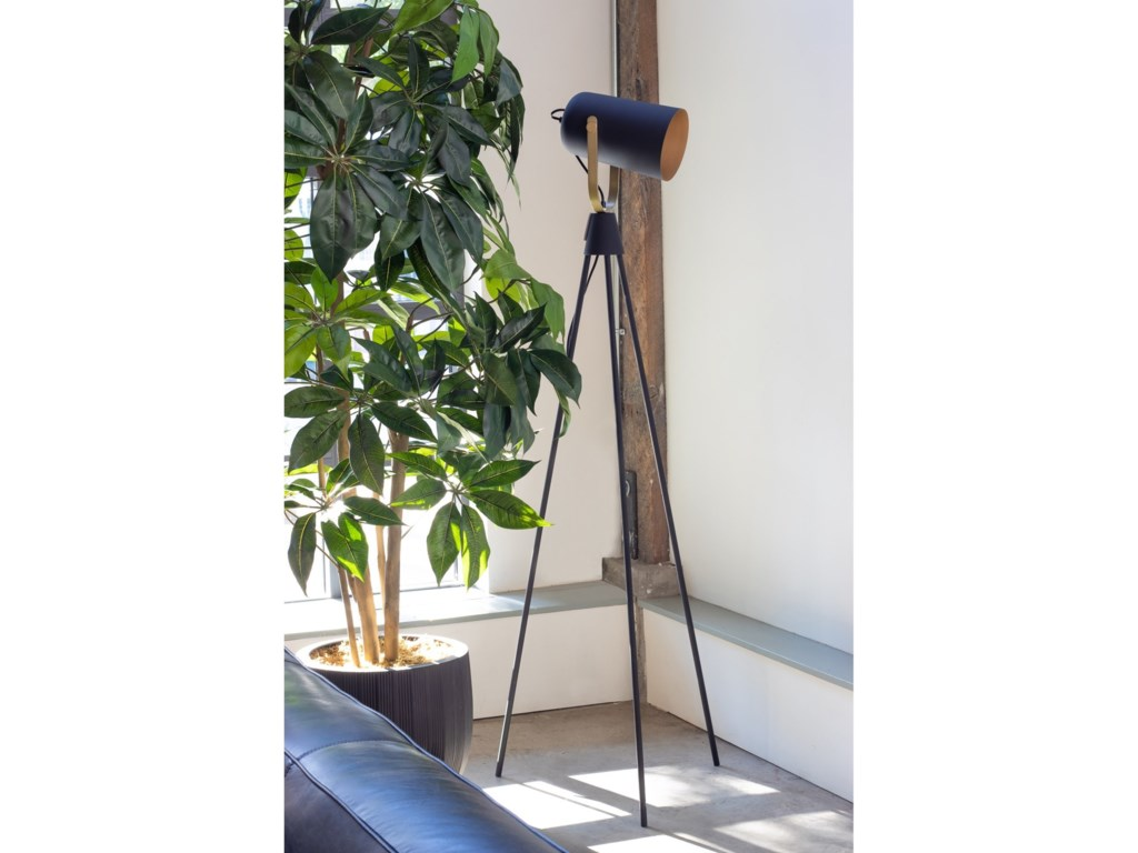 Moe's Home Collection LightingSpotlight Floor Lamp - Black