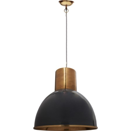 Leon Pendant Lamp Grey