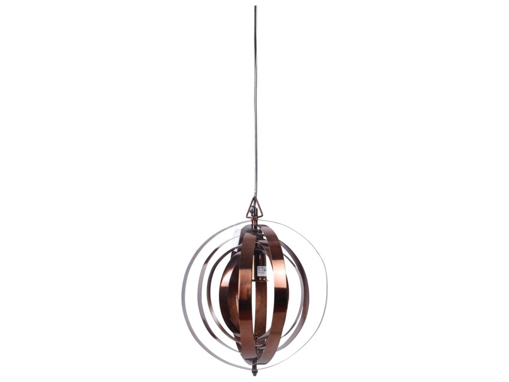 Moe's Home Collection LightingOrbit Pendant Lamp - Copper