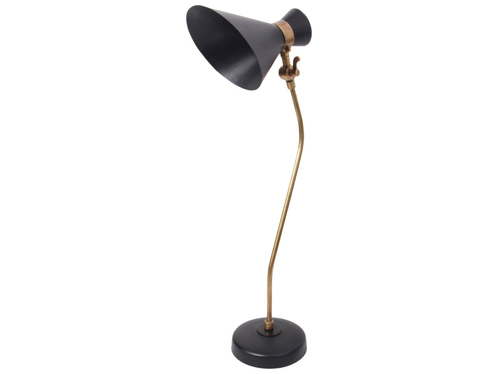 Moe's Home Collection LightingMonty Table Lamp Black