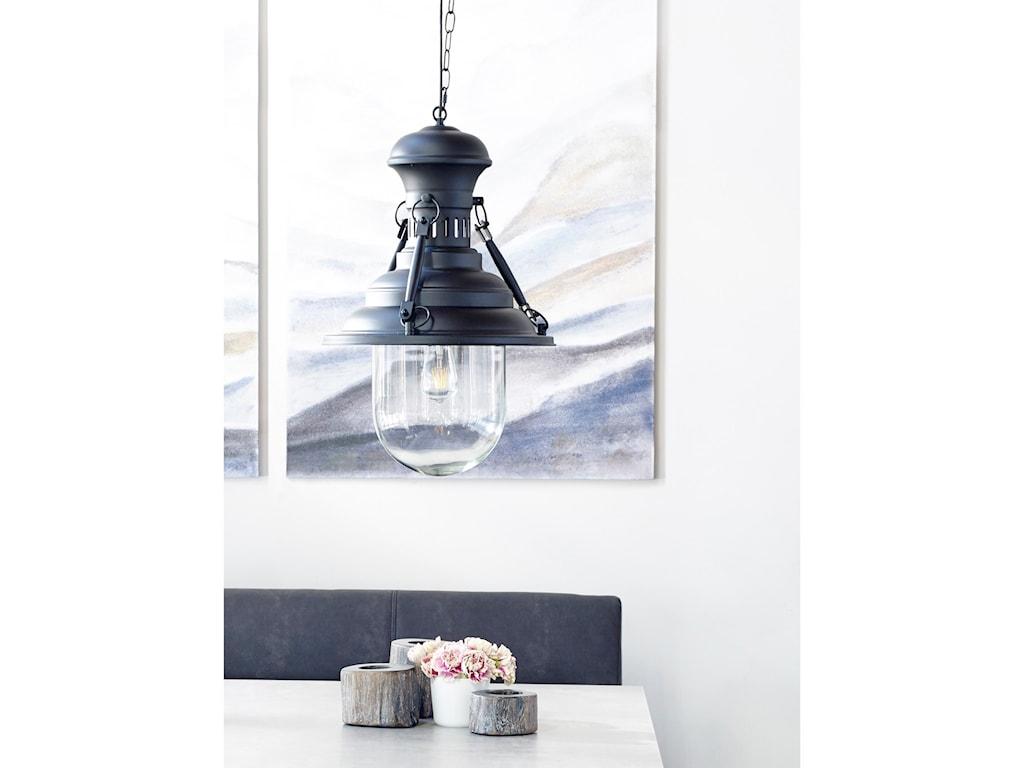 Moe's Home Collection LightingBrandt Pendant Lamp - Black
