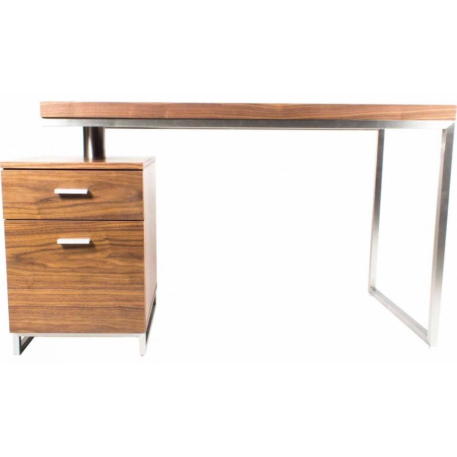 moe s home collection martos contemporary desk with 2 drawers rh sadlers com