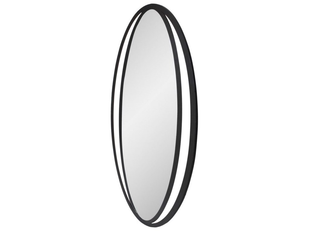 Moe's Home Collection Mirrors and ScreensReflect Mirror Black