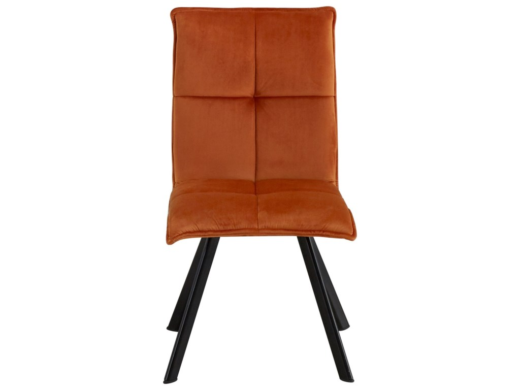 About A Chair 12 Side Chair.Moderno Contemporary Dining Side Chair With Upholstered Seat And Back By Moe S Home Collection At Sam Levitz Furniture