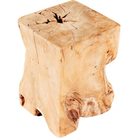 Teak Wood End Table