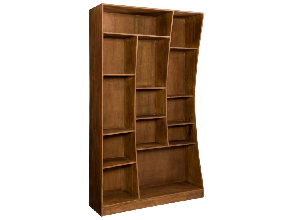 Moe's Home Collection NiagaraCube Bookcase Left