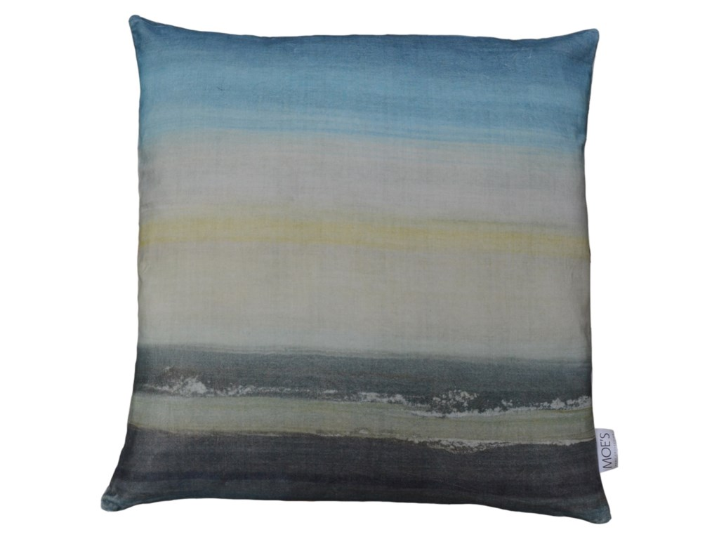 Moe's Home Collection Pillows and ThrowsSunrise Velvet Feather Cushion 25X25