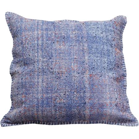 Floret Cushion Blue