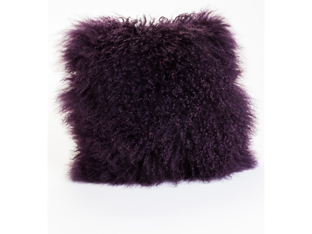 Moe S Home Collection Pillows And Throws Lamb Fur Pillow