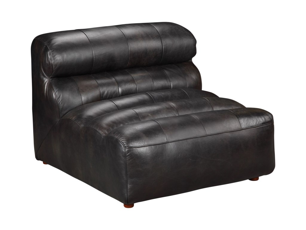 Moe's Home Collection RamsayLeather Slipper Chair