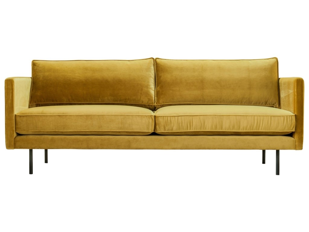Moe\'s Home Collection Raphael Mid-Century Modern Sofa with ...