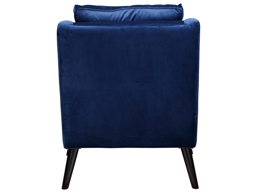 Moe's Home Collection RollinsArm Chair Blue