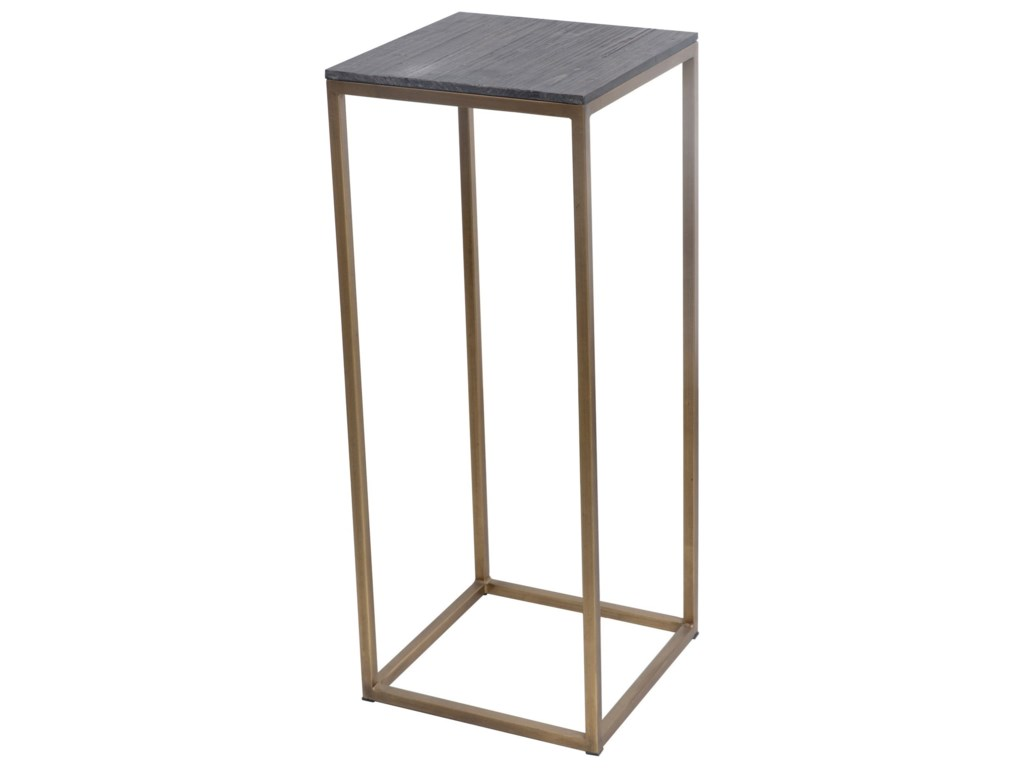 Moe's Home Collection StudioSet of 2 Brass Plant Tables