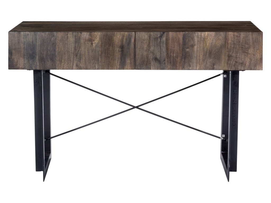 Tiburon Rustic Console Table With 2 Drawers By Moe S Home Collection At Fashion Furniture