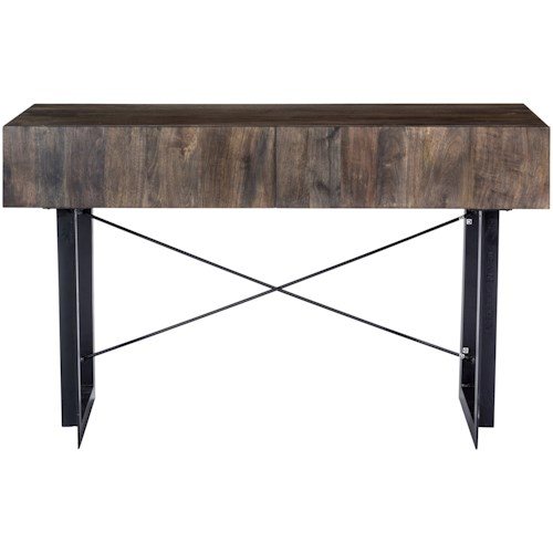 Moe\'s Home Collection Tiburon Rustic Console Table with 2 Drawers ...