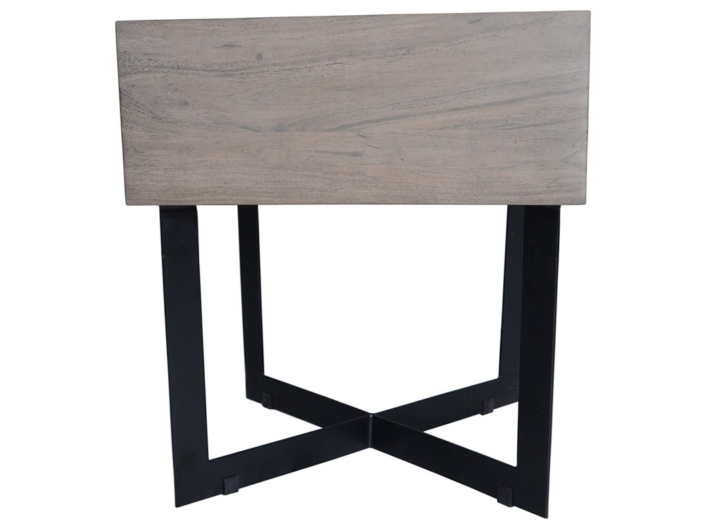 Moe\'s Home Collection Tiburon Rustic Side Table with Drawer ...