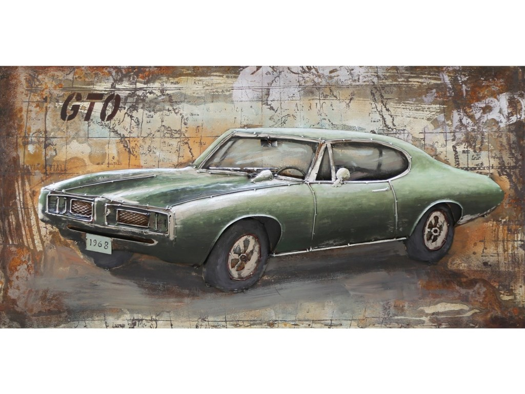 Moe's Home Collection Wall DécorMuscle Car Wall Art