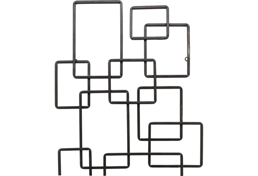 Moe S Home Collection Wall Décor Steel Squares Wall Decor Wilson S Furniture Wall Decor