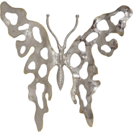 Metal Butterfly Nickel Medium