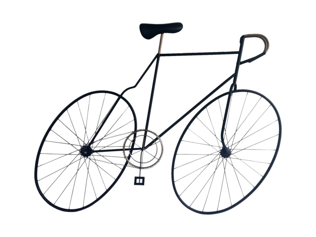 Moe's Home Collection Wall DécorMcmillan Bicycle Wall Art Black