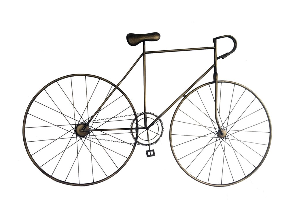 Moe's Home Collection Wall DécorMcmillan Bicycle Wall Art Bronze