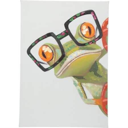 Peeking Frog Wall Décor