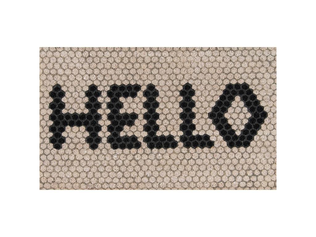Momeni  Novogratz AlohaHello Hex Tile 1'6
