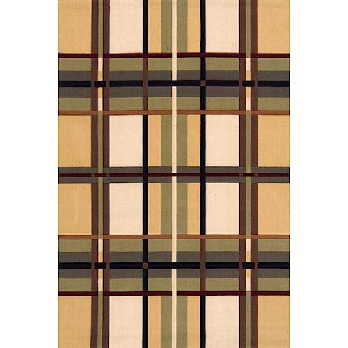 Momeni Eclectic III 5 x 8 Area Rug : Multi