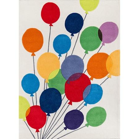 Balloons 2' X 3' Rug - Multi Balloons