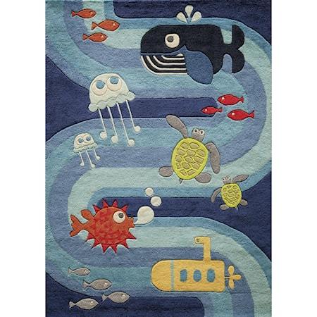 Ocean Life 4' x 6' Rug