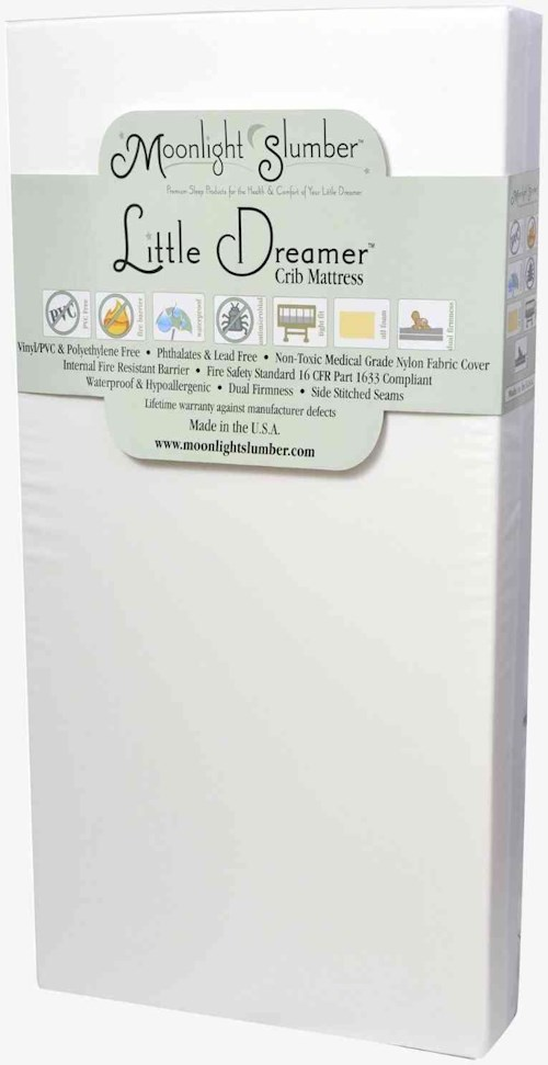 Moonlight Slumber Moonlight Slumber - Little Dreamer All Foam Crib Mattress with Dual Firmness
