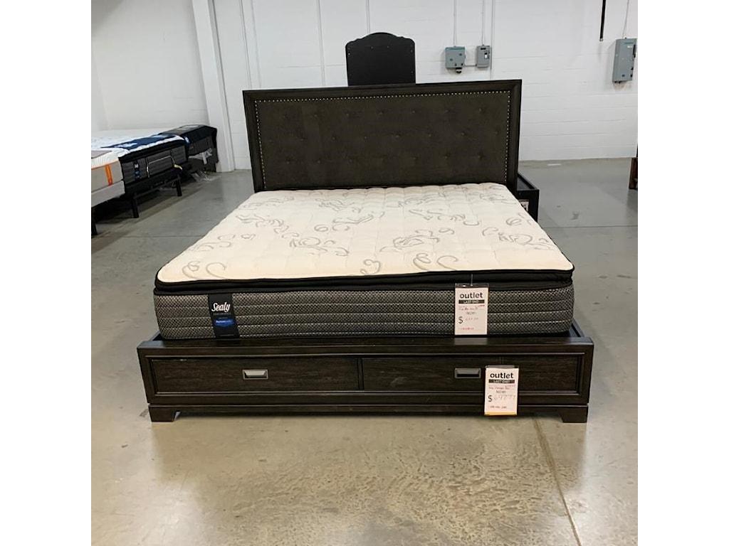 Morris Back Room BedLast One! King Storage Bed!