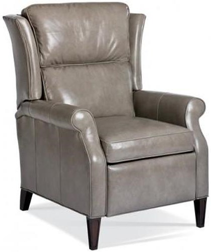 MotionCraft by Sherrill Recliners Traditional Push Back Recliner with Tapered Feet