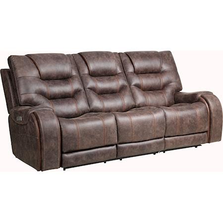 2-Piece Power Reclining Sofa w/ Pwr Headrest