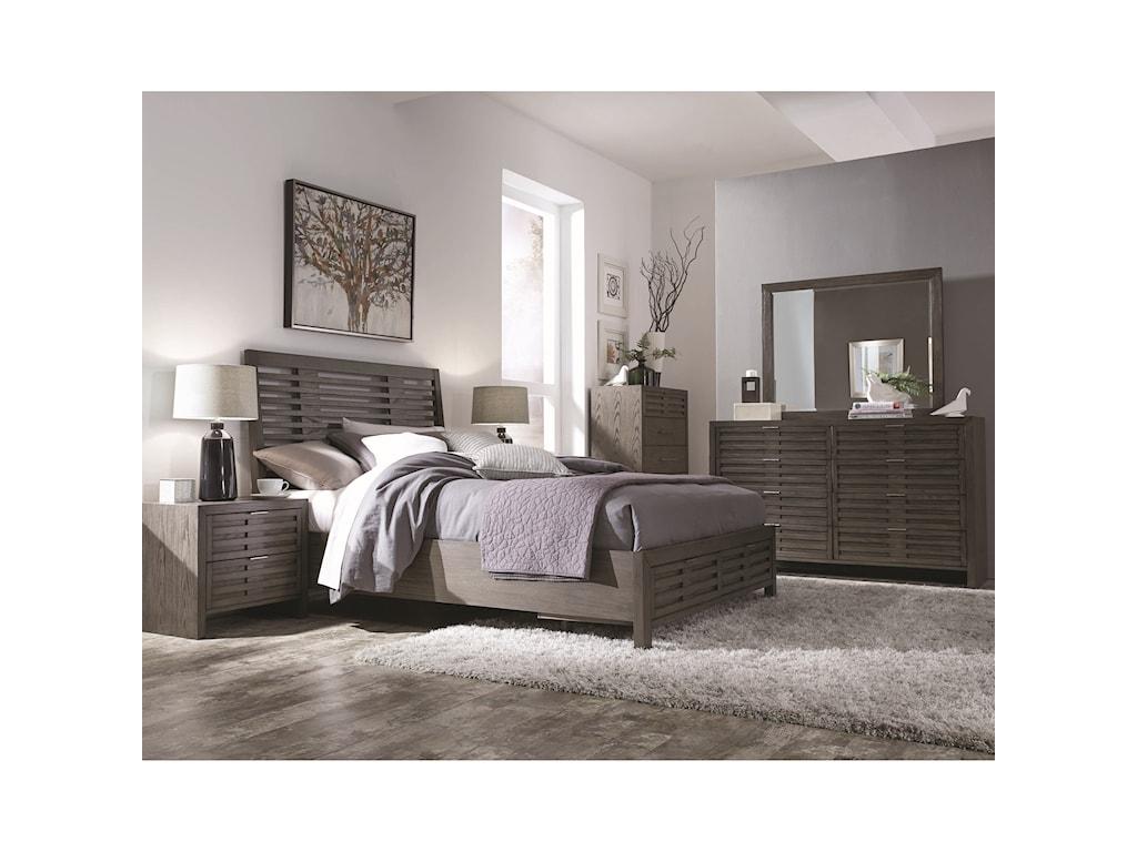 Najarian Belize Contemporary King Bedroom Group | Del Sol Furniture ...
