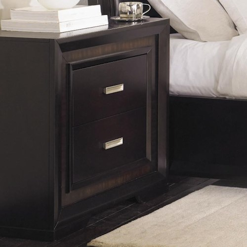 Najarian Brentwood Two Drawer Nightstand