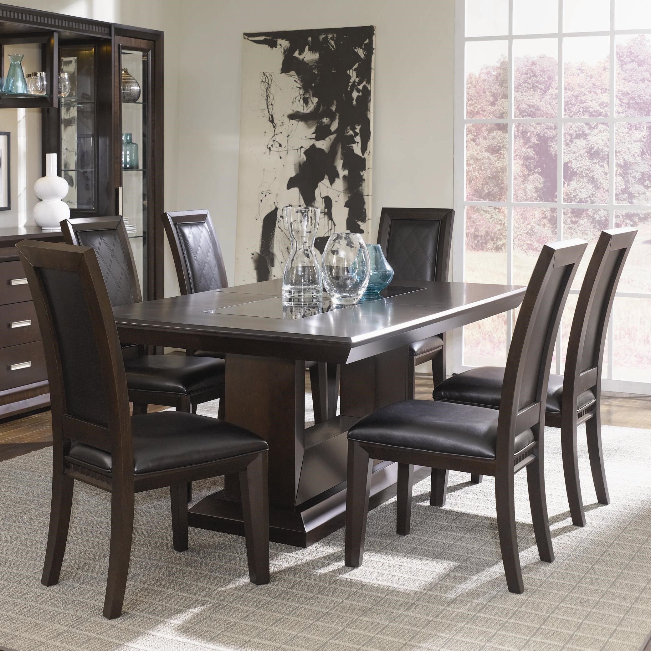 Najarian Brentwood Seven Piece Dining Room Table Set