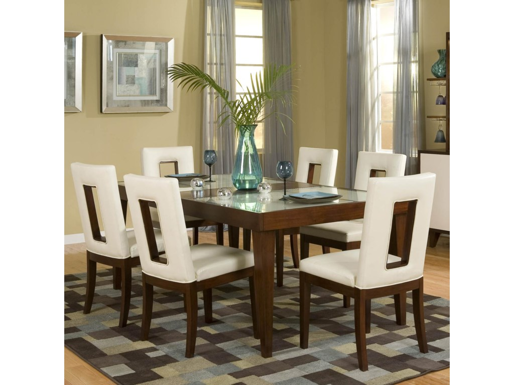 Najarian Enzo Dining 7 Piece Table and Chair Set   Del Sol Furniture ...
